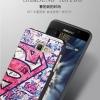(380-082)เคสมือถือซัมซุง Case Samsung A5 (2016) เคสนิ่มดำลายการ์ตูน กราฟฟิค ยอดฮิต