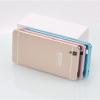 (025-061)เคสมือถือ Case OPPO R7/R7 Lite เคสกรอบบัมเปอร์โลหะฝาหลังอะคริลิคทูโทน