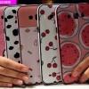 (440-042)เคสมือถือซัมซุง Case E7 เคสนิ่มขอบสีพื้นหลังลายสวยๆน่ารักๆ