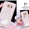 (559-003)เคสมือถือซัมซุง Case Samsung S7 Edge เคสนิ่มใสเพชรคริสตัลขวดน้ำหอมแฟชั่นสวยๆ