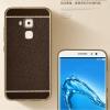 (025-306)เคสมือถือ Case Huawei G9plus เคสนิ่มขอบชุบแววพื้นหลังลายหนัง