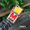 (513-088)เคสมือถือไอโฟน Case iPhone 7 เคสนิ่ม MOSCHINO ดักหนู