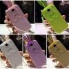 (440-051)เคสมือถือซัมซุงกาแล็คซี่ Case S4 เคสนิ่มใสกระต่ายหูยาว