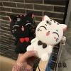 (513-016)เคสมือถือไอโฟน Case iPhone 6Plus/6S Plus เคสนิ่มตัวการ์ตูนแมวน่ารักๆ 3D Lucky Cat