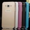 (025-169)เคสมือถือซัมซุง Case Samsung Galaxy On7 เฟรมโลหะพื้นหลังอะคริลิคพลาสติก
