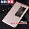 (027-279)เคสมือถือ Case Huawei MediaPad X2 เคสฝาพับโชว์หน้าจอผิวมัน