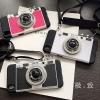 (496-020)เคสมือถือ Case OPPO R9 Plus เคสนิ่มชุบแวว 3D สไตล์กล้องถ่ายรูปยอดฮิต