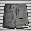 (002-043)เคสมือถือ Motorola nexus 6 เคสกันกระแทกเหน็บเอวขอบสีสุดฮิต