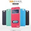 (456-007)เคสมือถือไอโฟน case iphone 6Plus/6S Plus เคสพลาสติกฝาพับ PU สไตล์คลาสสิคโชว์หน้าจอ