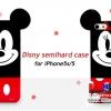 (152-762)เคสมือถือไอโฟน case iphone 5/5s ดิสนีย์มิกกี้มินนี่