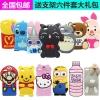 (006-043)เคสมือถือ Case Huawei P8 Lite เคสนิ่ม 3D ตัวการ์ตูนยอดนิยม