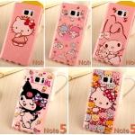 (151-292)เคสมือถือซัมซุง Case Note5 เคสนิ่ม คิตตี้ Melody Candy