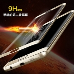 (454-001)ฟิล์มกระจกนิรภัย S7 Edge แบบเต็มหน้าจอ กันรอยขูดขีดกันน้ำกันรอยนิ้วมือ 3D 9H HD 2.5D