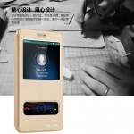 (516-018)เคสมือถือ Case Huawei Enjoy 5 เคสพลาสติกฝาพับ Pu โชว์หน้าจอแบ็คแกมมอน