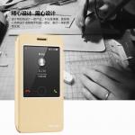 (516-015)เคสมือถือ Case Huawei ALek 4G Plus (Honor 4X) เคสพลาสติกฝาพับ Pu โชว์หน้าจอแบ็คแกมมอน