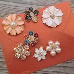 (505-004)ดอกไม้โลหะหลากหลายรูปแบบ