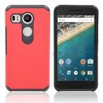 (002-175)เคสมือถือ Case LG Nexus 5X เคสนิ่ม+พื้นหลังประกบแบบพลาสติกสองชั้น