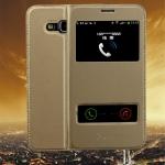 (569-011)เคสมือถือซัมซุง Case Samsung J7 เคสนิ่มฝาพับ PU โชว์สองหน้าจอผิวลื่นกันน้ำ