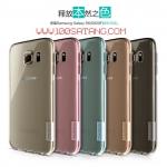 (385-042)เคสมือถือซัมซุง Case Samsung S6 พรีเมี่ยมเคสนิ่มใสบางสไตล์ Nillkin Nature