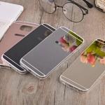 (291-014)เคสมือถือซัมซุง Case Samsung S6 เคสนิ่มใสพื้นหลังแววสะท้อนคล้ายกระจก