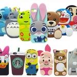 (006-032)เคสมือถือไอโฟน case iphone 5/5s/SE เคสนิ่มตัวการ์ตูนน่ารักๆ สไตล์ 3D หลากหลายรูปแบบ