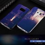(439-022)เคสมือถือซัมซุง Case Samsung S6 Edge เคสนิ่ม Blue Light