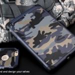 (385-058)เคสไอแพด iPad mini1/2/3 เคสนิ่มเกราะพลาสติกลายพรางทหารกันกระแทก