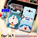 (406-001)เคสมือถือซัมซุง Case Samsung A8 เคสขอบนิ่มฝาหลังพลาสติกลายโดเรมอนน่ารักๆ