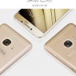 (370-083)เคสมือถือซัมซุง Case Samsung Galaxy C7 เคสนิ่มใสคลุมเครื่องแบบบางกันรอยนิ้วมือ