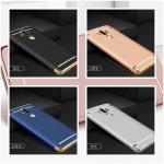 (025-483)เคสมือถือ Case HUAWEI Mate9 Pro เคสพลาสติกสไตล์แฟชั่นขอบทอง