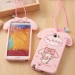 (380-059)เคสมือถือ Samsung Galaxy Note2 เคสนิ่ม My MELODY