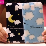(440-019)เคสมือถือซัมซุงโน๊ต Case Note3 เคสนิ่มพื้นหลังลายสวยๆน่ารักๆ
