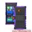 (002-074)เคสมือถือ Microsoft Lumia 730 เคสพลาสติกกันกระแทกรุ่นขอบสี thumbnail 9