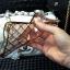 (442-020)เคสมือถือ Case OPPO R7/R7 Lite เคสนิ่มใสขอบชุบแววลายโมเสคแก้ว thumbnail 5