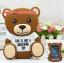(006-011)เคสมือถือ Case Huawei ALek 4G Plus (Honor 4X) เคสนิ่มการ์ตูน 3D น่ารักๆ thumbnail 18