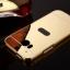 (025-075)เคสมือถือ HTC M8 เคสกรอบโลหะพื้นหลังอะคริลิคแวววับคล้ายกระจกสวยหรู thumbnail 12