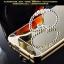(025-170)เคสมือถือ Case Huawei Ascend G7 เคสกรอบโลหะพื้นหลังอะคริลิคเคลือบเงาทอง 24K thumbnail 6