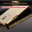 (025-166)เคสมือถือออปโป้ OPPO Joy 3 เคสกรอบโลหะพื้นหลังอะคริลิคเคลือบเงาทองคำ 24K thumbnail 4