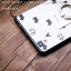 (406-032)เคสมือถือ Case OPPO R7/R7 Lite เคสพลาสติกใสขอบนิ่มดำลายน้องหมาน่ารักๆ thumbnail 5