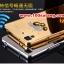 (025-149)เคสมือถือ Case OPPO R7/R7 Lite เคสกรอบโลหะพื้นหลังอะคริลิคเคลือบเงาทองคำ 24K thumbnail 6