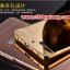 (025-149)เคสมือถือ Case OPPO R7/R7 Lite เคสกรอบโลหะพื้นหลังอะคริลิคเคลือบเงาทองคำ 24K thumbnail 4