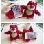 (151-289)เคสมือถือ HTC One A9 เคสพลาสติกใสดิสนีย์หมีตุ๊กตาสตรอเบอร์รี่ thumbnail 4