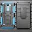 (002-172)เคสมือถือ Case LG Stylus 2 เคสนิ่ม+พื้นหลังประกบแบบพลาสติก+มีขาตั้ง+ที่เหน็บเอวสไตล์กันกระแทก thumbnail 8