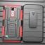 (002-172)เคสมือถือ Case LG Stylus 2 เคสนิ่ม+พื้นหลังประกบแบบพลาสติก+มีขาตั้ง+ที่เหน็บเอวสไตล์กันกระแทก thumbnail 7