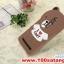 (025-025)เคสมือถือ Asus Zenfone2(5.5นิ้ว) เคสนิ่ม 3D Brown & Cony thumbnail 3