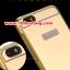 (025-154)เคสมือถือ Case Huawei ALek 4G Plus (Honor 4X) เคสกรอบโลหะพื้นหลังอะคริลิคเคลือบเงาทองคำ 24K thumbnail 4