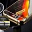 (025-170)เคสมือถือ Case Huawei Ascend G7 เคสกรอบโลหะพื้นหลังอะคริลิคเคลือบเงาทอง 24K thumbnail 2