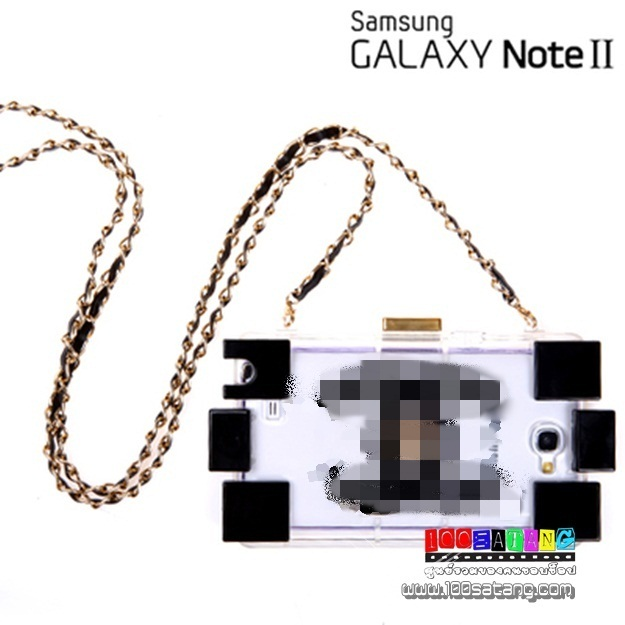 (พร้อมส่ง)เคสมือถือ Samsung Galaxy Note2 เคสขวดน้ำหอมแพคเกจเลโก้ใหม่โปร่งใส