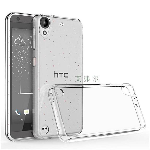 (002-139)เคสมือถือ HTC Desire 530 เคสใสอะคริลิคขอบนิ่ม