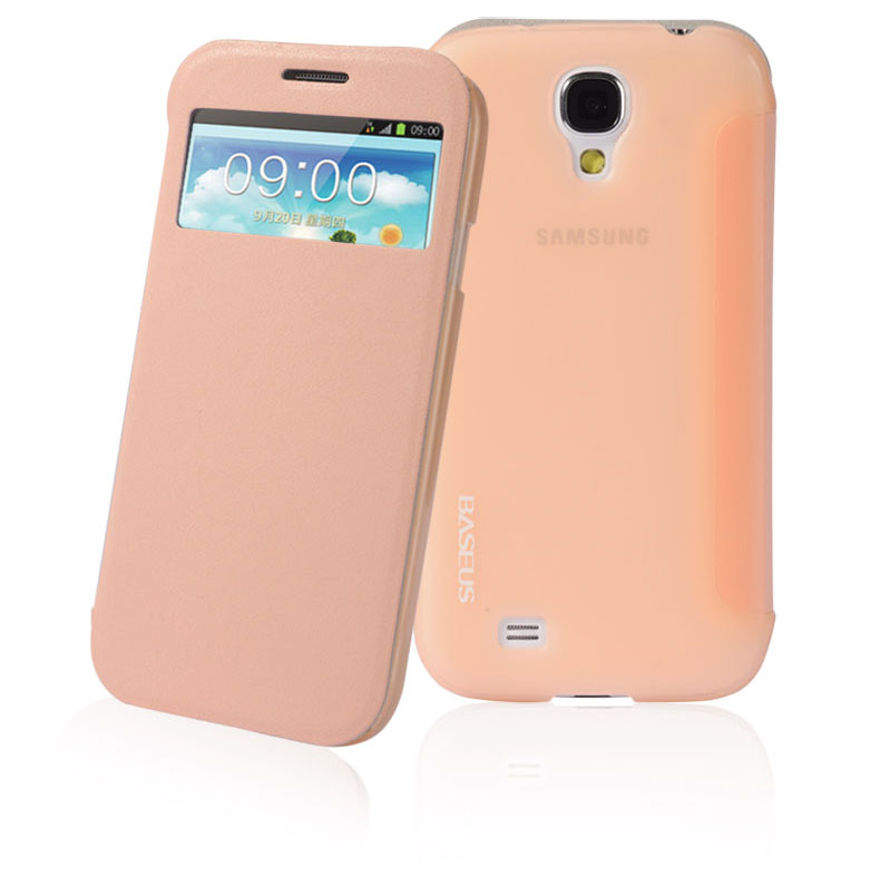(พร้อมส่ง)เคสมือถือซัมซุงกาแล็คซี่เอส 4 Samsung Galaxy เคสฝาพับ BASEUS
